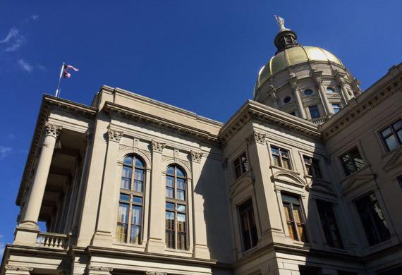 Capitol in sun