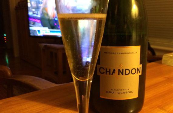 Chandon bubbly n tv