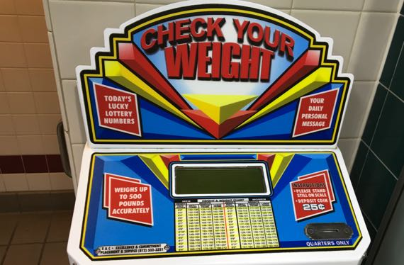 Check your weight