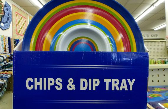 Chips and dip of manistique