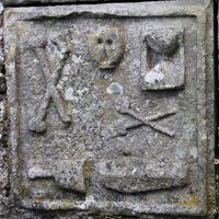 Christian burial symbols