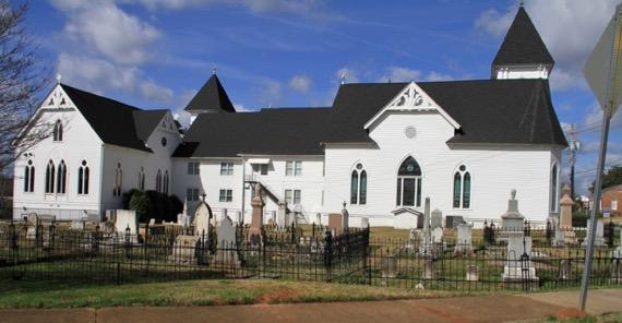 Church in Sun