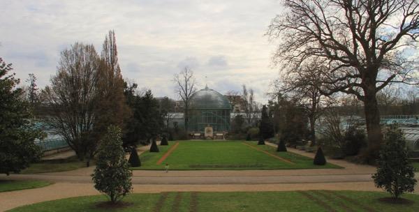 Conservatory jardin