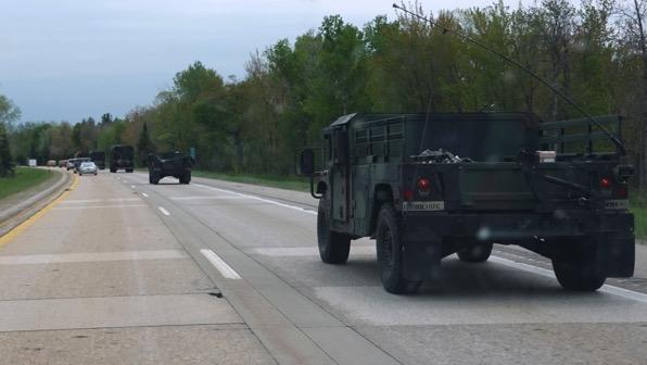 Convoy military