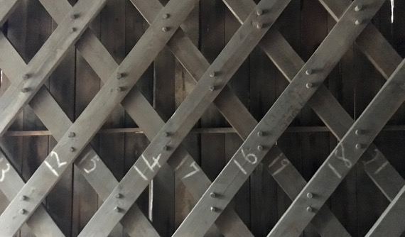 Covered bridge lattice