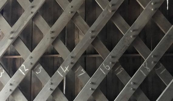 Covered bridge lattice