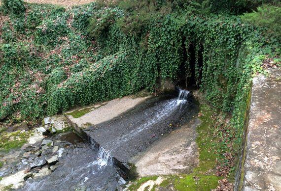 Culvert water