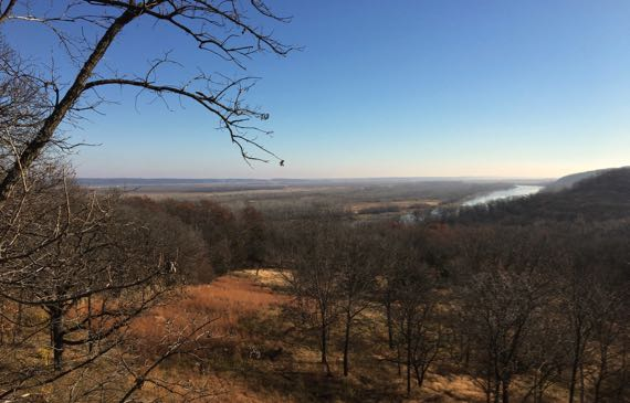Distant MO river