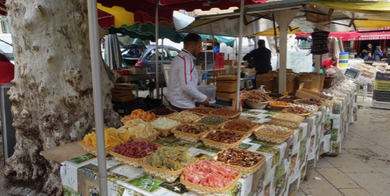 Dried fruits nuts market