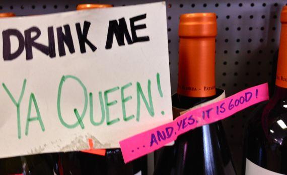 Drink me ya queen