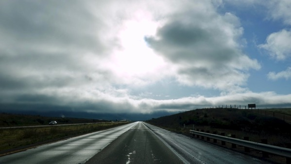 Drive up into cloud