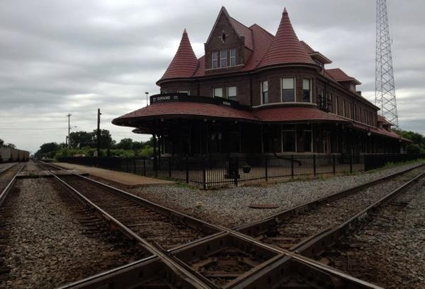 Durand station diamond