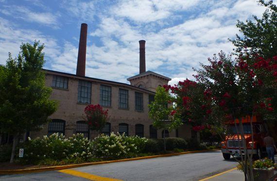 Factory redo exterior w crape myrtles