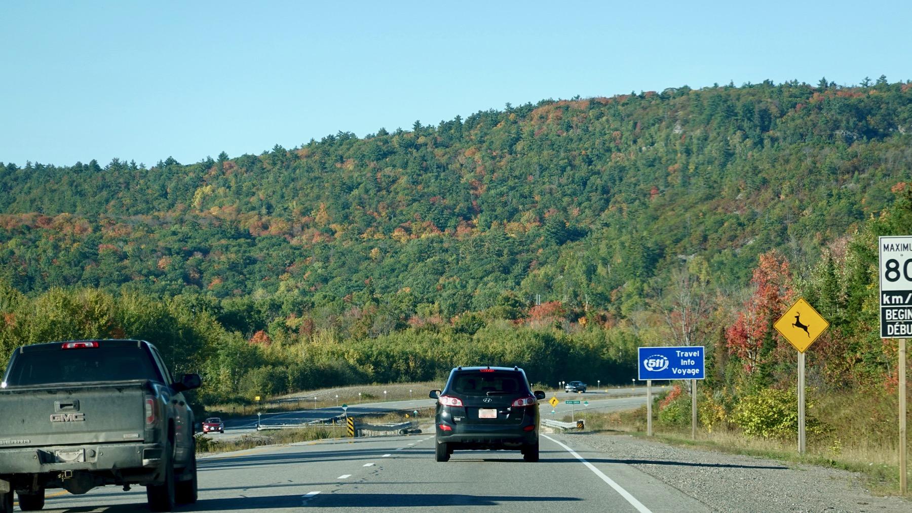 Fall color Canada