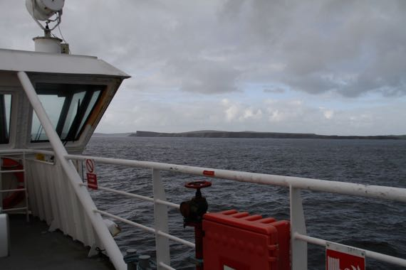 Ferry land view