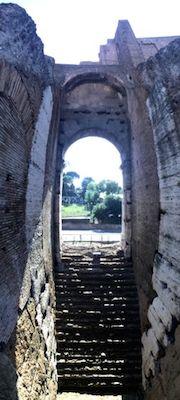 Flavian amphitheatre vertical