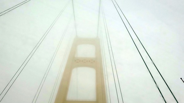 Fog at Bridge