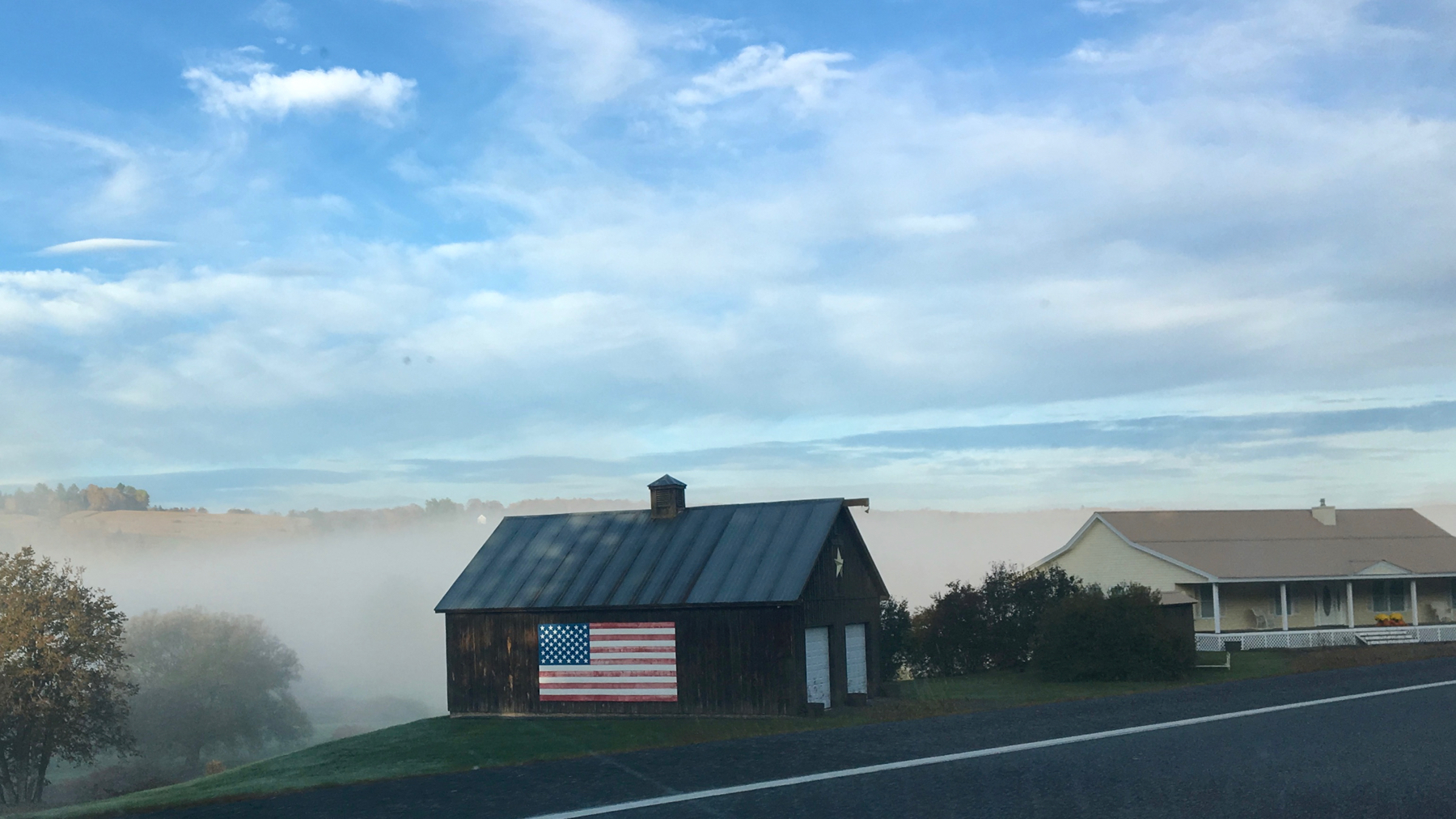 Fog n flag