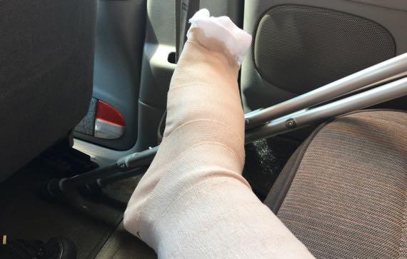 Foot crutch
