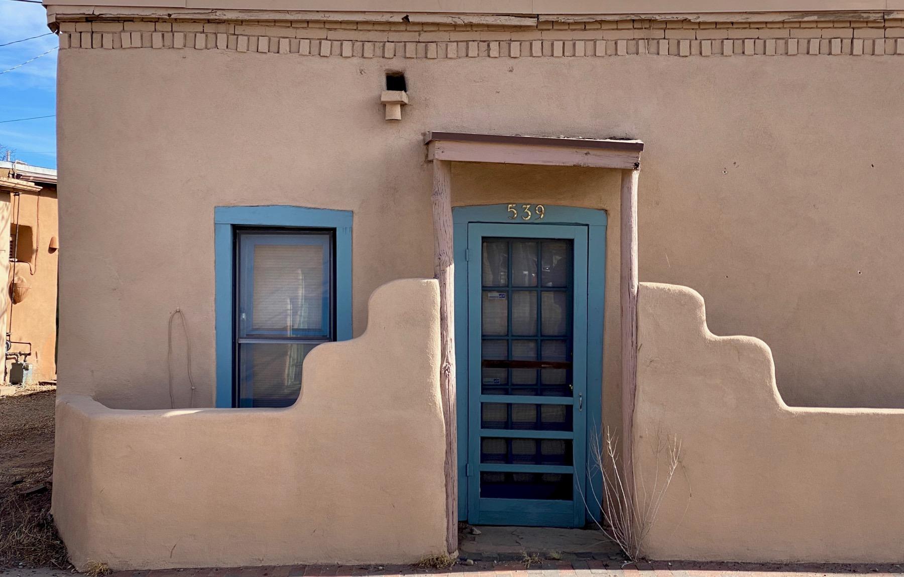 Gallery door