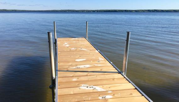 Gang tagged dock