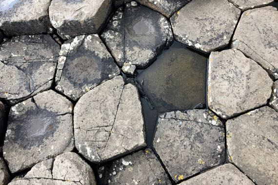 Giants causeway hexagons