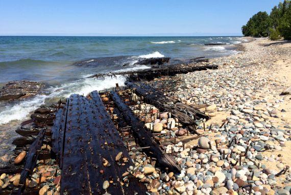Gitchee shipwreck