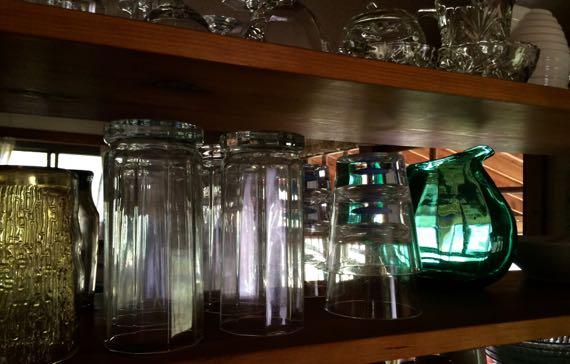 Glassware sparkley