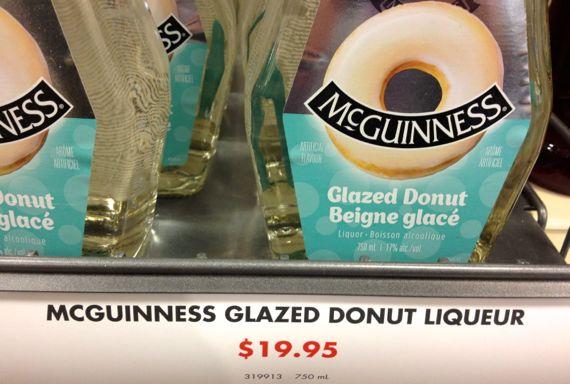 Glazed donut liqueur
