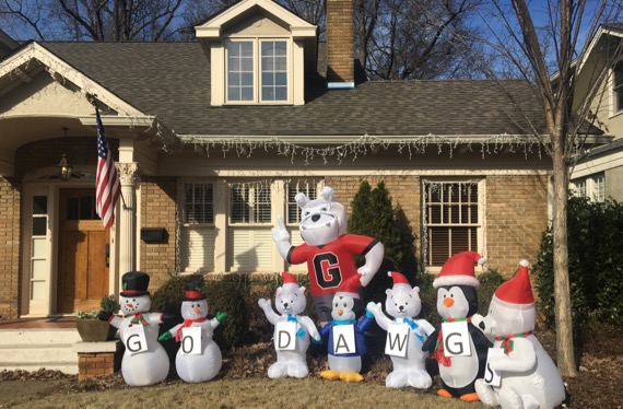 Go dawgs snowpeople