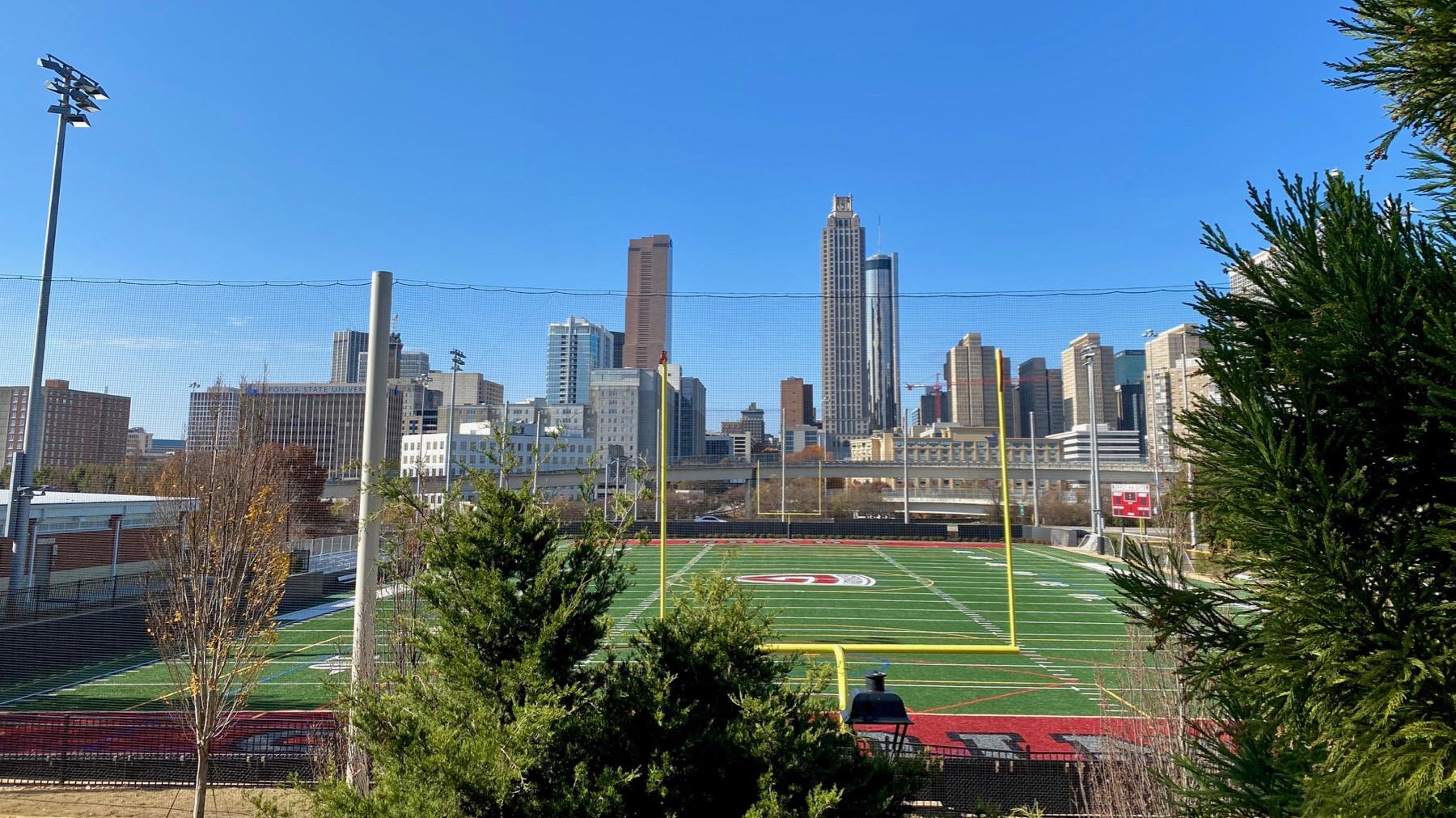 Grady practice football field