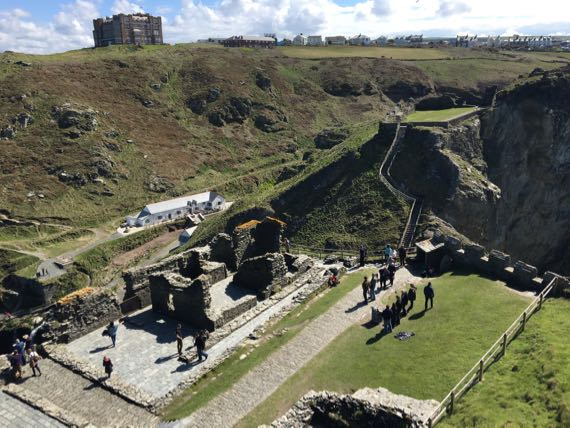 Great hall Tintagel