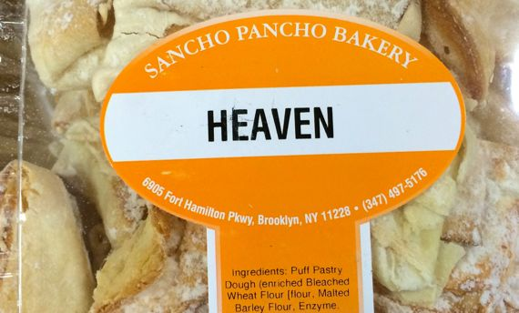 Heaven pastry