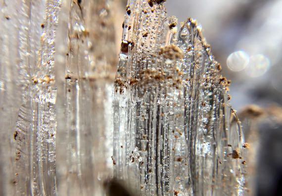 Ice crystal towers