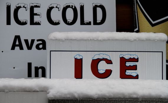 Ice irony