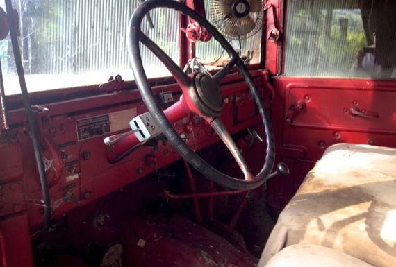 Jeep ish interior