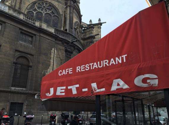 Jetlag cafe Paris