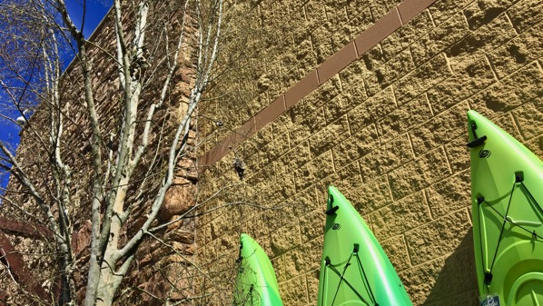 Kayak wall