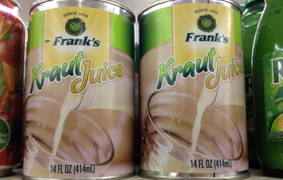 Kraut juice duo Franks