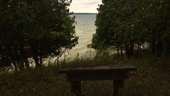 Lakeview bench