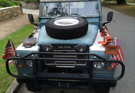 Landrover ready offroad