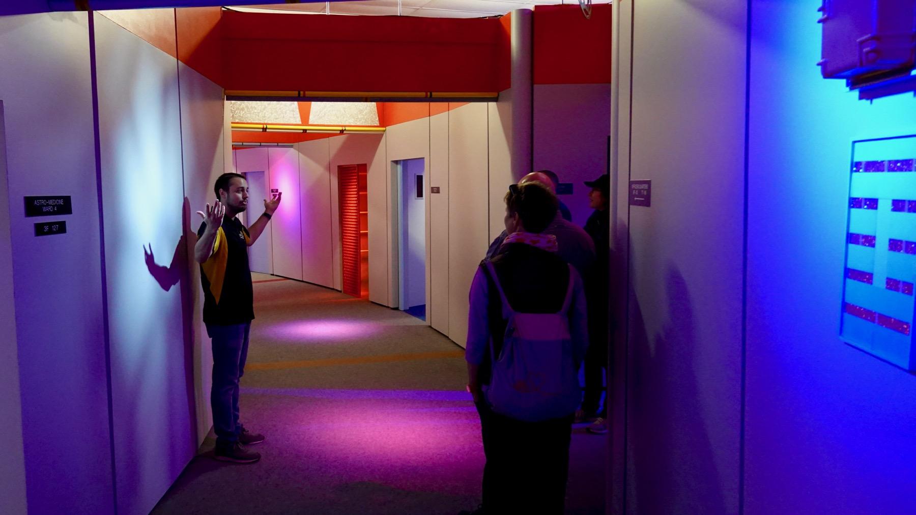 Magic hallway