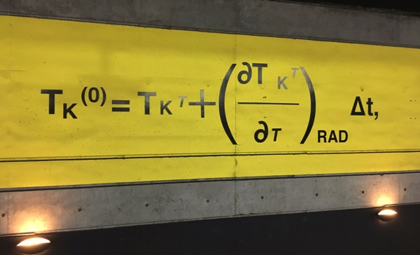 Metro equation