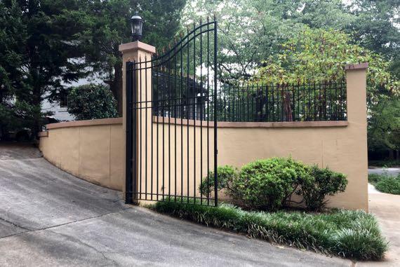 Morning gate
