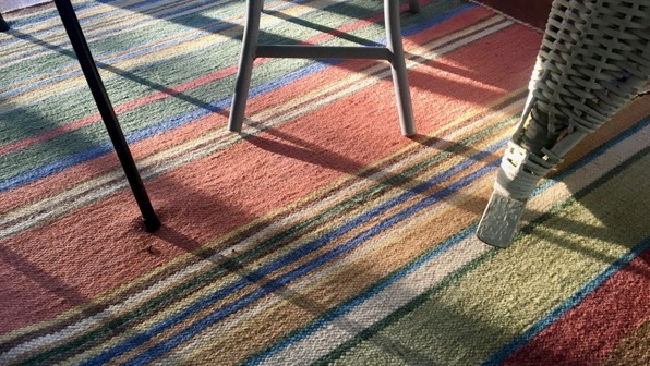 Morning light rug