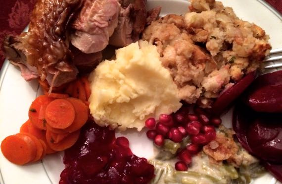 My turkey plate