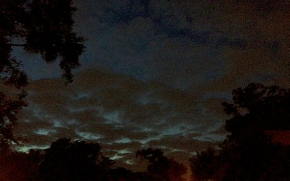 Night sky by Callanwolde