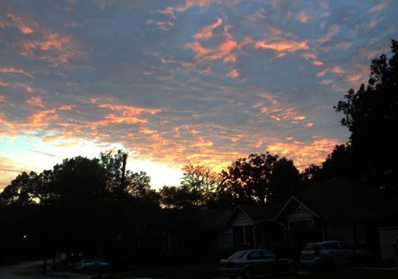 Northish dawn sky va hi
