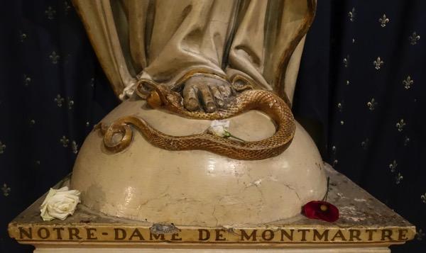 Notredame foot snake