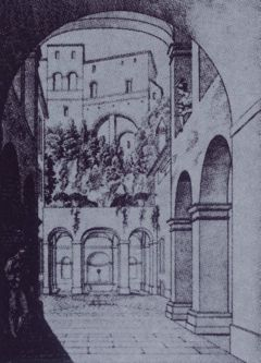 Nymphaeum Letarouliouly drawing